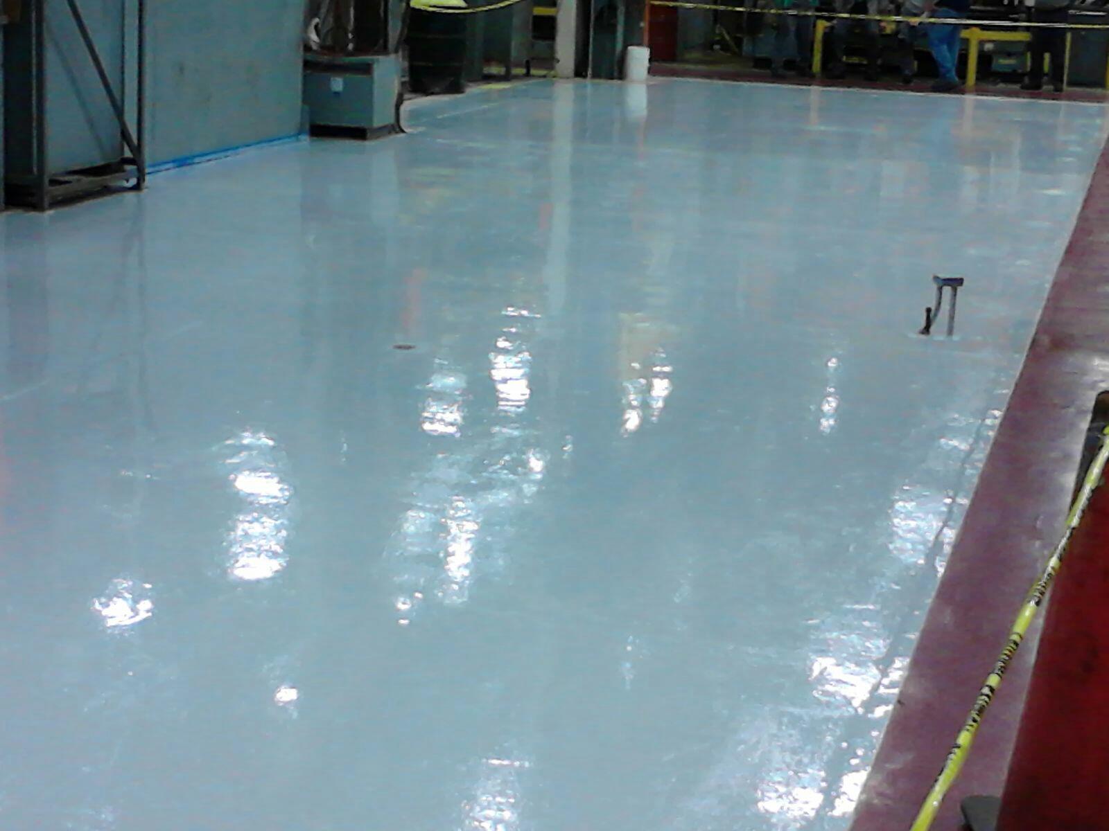 Epoxy Floor Industrial Factory